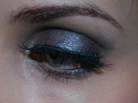 maquillage kaki, pinceaux shu, routine visage 006