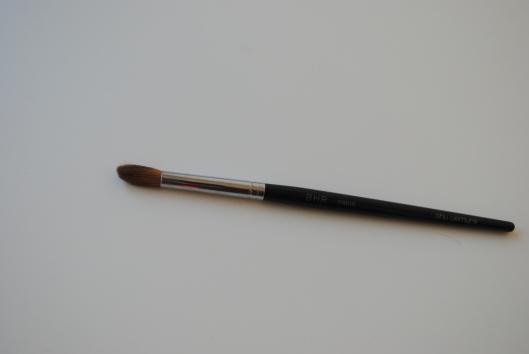 maquillage kaki, pinceaux shu, routine visage 019