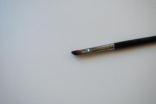 maquillage kaki, pinceaux shu, routine visage 020