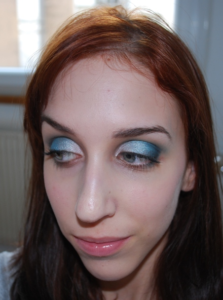 Un dégradé de bleu !
